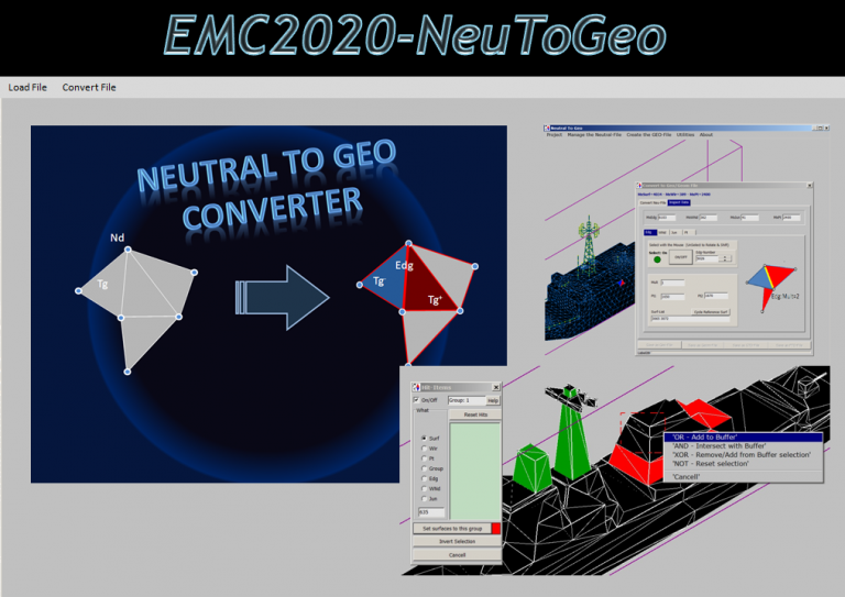 EMC2020-NeuToGeo software